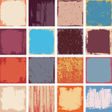 Grunge Square Backgrounds Vector Stock Photos