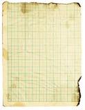 Grunge squared paper Royalty Free Stock Image