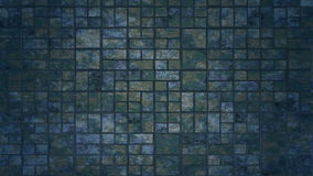 Grunge squares abstract background. Realistic wall of cubes Stock Images