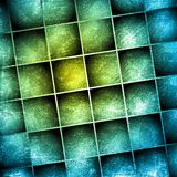 Grunge squares design Stock Images