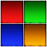 Grunge squares Royalty Free Stock Photography
