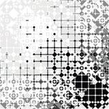 Grunge squares pattern Royalty Free Stock Image