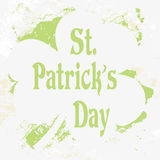Grunge St. Patrick Day background,  Stock Photography