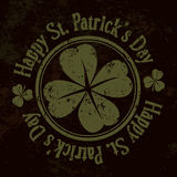 Grunge St. Patrick Day background,  Royalty Free Stock Photography