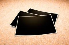 Grunge stack of photos. Stock Photo