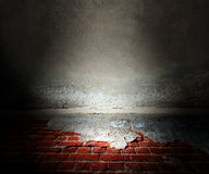 Grunge Stage Background Royalty Free Stock Photo