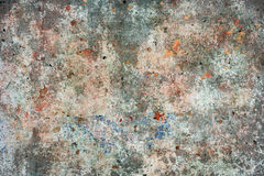 Grunge stained old wall Stock Images