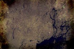 Grunge stained wall Stock Images