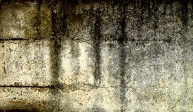 Grunge Stained Wall Stock Photos