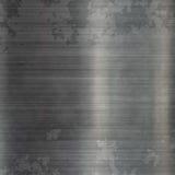 Grunge stalowy kruszcowy talerz Zdjęcie Royalty Free