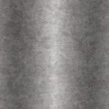Grunge stalowy kruszcowy talerz Fotografia Stock
