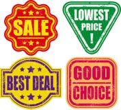 Grunge stamp Royalty Free Stock Photo
