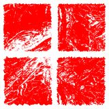 Grunge stamp background textures set stock illustration