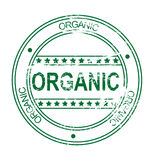 Grunge stamp: organic (vector) Royalty Free Stock Photo