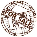 Grunge stamp FOR SALE Stock Image