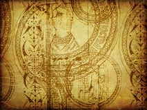 Grunge stamp textures Royalty Free Stock Photos