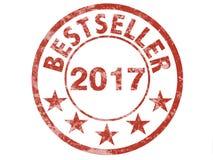 Grunge stamp wfor bestseller 2017 Stock Photo