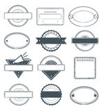 Grunge Stamps Frames. This is a set of high details grunge selling rubber stamps vector illustration