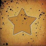 Grunge star Royalty Free Stock Photos