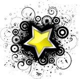 Grunge star Royalty Free Stock Image