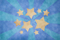 Grunge Star Paper Royalty Free Stock Image