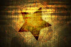 Grunge star texture. An illustration of a grunge star background Royalty Free Stock Photography