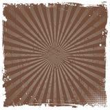 Grunge starburst Stock Fotografie