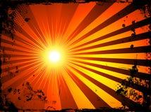 Grunge starburst Royalty Free Stock Image