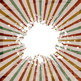 Grunge starburst background Stock Photo