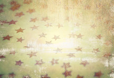 Grunge starry background Stock Photography