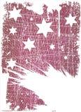 Grunge stars  Stock Image