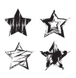Grunge Stars Royalty Free Stock Photos