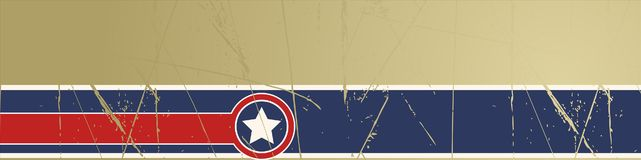 Free Grunge Stars And Stripes Background Royalty Free Stock Photography - 15448547