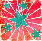 Grunge stars background Royalty Free Stock Photo