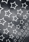 Grunge stars background Stock Photo