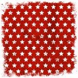Grunge stars background Stock Image