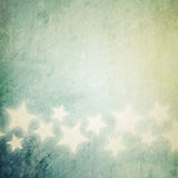 Grunge stars background Stock Photography