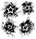 Grunge Stars Stock Photo