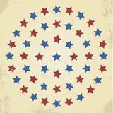 Grunge stars Hintergrund vektor abbildung