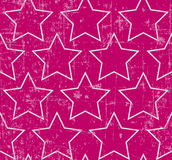 Grunge stars seamless Royalty Free Stock Image