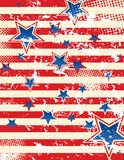 Grunge Stars And Stripes Royalty Free Stock Photos
