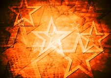 Grunge stars vector background Stock Photos