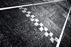 Grunge start finish line pattern Royalty Free Stock Images