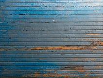 Grunge stary drewno zaszaluje fotografii teksturę Obraz Royalty Free
