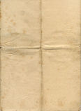 grunge stary papier oznaczane Zdjęcia Stock
