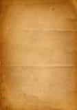 Grunge stary papierowy tło Fotografia Royalty Free
