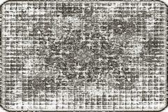 Grunge starzejący się czarny i biały tło zdjęcia royalty free