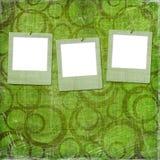grunge starzy papierów obruszenia trzy Fotografia Royalty Free