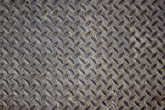 Grunge steel floor palte Stock Images