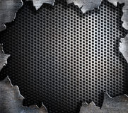 Grunge steel metal background Stock Images